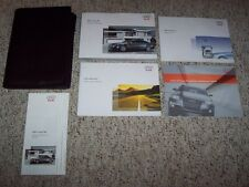 2007 Audi S6 Quattro 5.2L V10 Owner's Owners User Manual Set