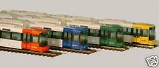 60012-grün, Straßenbahn GT8 N Bremen, HO, Standmodell