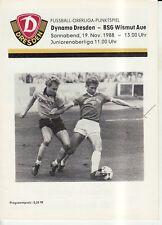 OL 88/89 SG Dynamo Dresden - BSG Wismut Aue