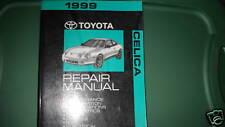1999 Toyota Celica Service Repair Shop Workshop Manual OEM Factory Engine +