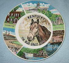 Souvenir Plate Kentucky 9 Inches