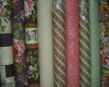SSI Rare & Lovely Floral Panel & 8 FQ Quilt Fabric by Betty Wang = 2 5/8 Yds