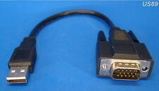 usa seller. NEW 2.0 USB TO VGA ADAPTER CABLE. MONITOR LAPTOPS SCREEN SCANNER