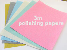 3M Polishing Papers for Art Clay Silver-Precious Metals Gold Copper PMC