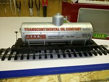 C-7 G scale LGB #4080-Y01 Transcontinental Oil Company tanker, box, good cond.