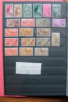 LOT STAMPS COLONIES SPAIN TOPICAL ANIMALS BIRDS MNH** (coA)