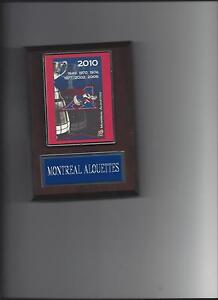 MONTREAL ALOUETTES GREY CUP PLAQUE FOOTBALL CFL