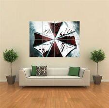 Resident evil paraguas Gigante Póster de impresión de arte pared de imagen G1529