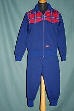 NEU Original merboso Schweiz 1:0 Trainingsanzug Skianzug Sportswaer Blau Gr. 48