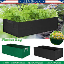 Planting Grow Bag Garden Fabric Container Fruit Vegetable Flower Planter Bed New