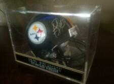 Pittsburgh Steelers Troy Polamalu Signed Mini Helmet