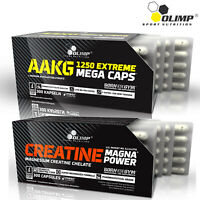 AAKG ARGININE + CREATINE WITH MAGNESIUM - Muscle Pump Energy Strength & Growth