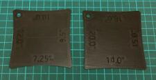 More details for guitar fingerboard/bridge radius gauge set