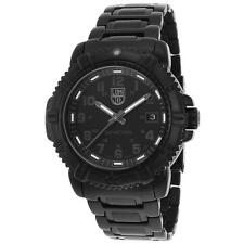 New Luminox Women's Modern Mariner 7252.BO Black IP Stainless Steel and Dial