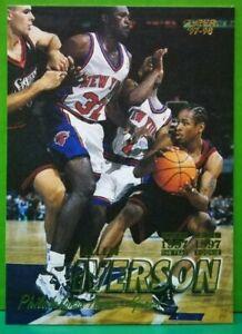 Allen Iverson regular card 1997-98 Fleer #300
