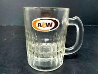 "Mini A&W Root Beer Mug 3.5"" Glass InterBev Trade Show Chicago Miniature 1984"