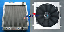 3 ROW 1964-1966 Ford MUSTANG V8 289 302 WINDSOR Aluminum Radiator & Fan shroud