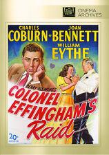 Colonel Effingham's Raid 1945 (DVD) Charles Coburn, Joan Bennett - New!
