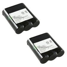 2 NEW Cordless Home Phone Battery for Panasonic P-P511 ER-P511 HHR-P402 600+SOLD