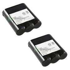 x2 Phone Battery for Panasonic P-P511 ER-P511 HHR-P402