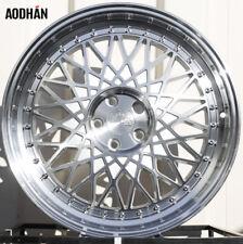 Aodhan Ah05 18X9.5 5X114.3 +35 Silver Rims Accord Civic RSX TSX TL TLX ILX CRZ