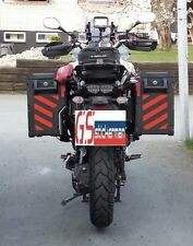 RED REFLECTIVE SAFETY CHEVRONS FOR YAMAHA SUPER TENERE XT1200ZE STICKERS