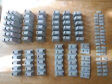 Vintage HO Scale plastic risers 69 pieces