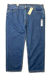 NEW Levi's 550 Big Tall Men's Blue Jeans - Tapered Leg Relaxed Fit - 50 X 30 tag