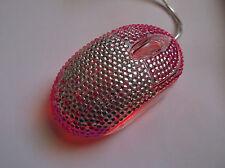 Sparkle Computer Mouse,Pink Rhinestone Mouse,Diamond Computer Mouse.USA shipped