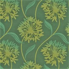 Arc/com Laurel caribbean Large Modern Contemporary Floral Upholstery Fabric