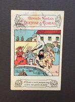 Carte postale Biscuit Nantais par Benjamin RABIER