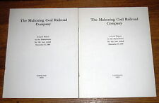 2 Mahoning Coal Railroad Company Annual Reports - 1959