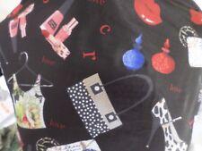 1 yd  printed  fabric good weight 4 way spandex lycra MADE  USA J4614