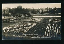 Gloucestershire Glos BRISTOL Royal Visit KE7 1908 Living Union Jack unuse RP PPC