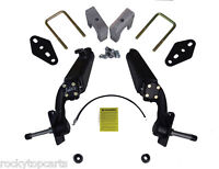 """Jake's Club Car DS and Carryall 6"""" Spindle Lift Kit For Models with Mech Brakes"""