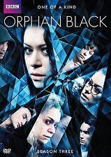 Orphan Black . The Complete Season Three . 3. Staffel . BBC . 3 DVD . NEU . OVP