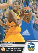 2015-16 Upper Deck Euroleague Basketball #E84 Alex Renfroe Alba Berlin