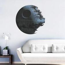 Death Star ARTWORK Star Wars Home Decor Wall Sticker Wallpaper Decals New