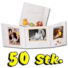 "50x Portraitmappe 13x18 Fotomappe Leporello ""Frotty"""