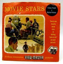 View-Master 740, 741, 742, Movie Stars I, II, III, S3 Package, 3 Reel Set