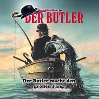 DER BUTLER - FOLGE 4-DER BUTLER MACHT DEN GROßEN FANG  2 CD NEW
