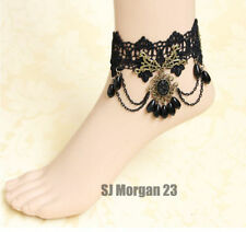 Unbranded Fabric Alloy Costume Anklets