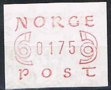 Noorwegen postfris automaatzegels 1980 MNH A2 (01)