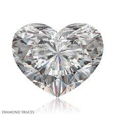 1.08ct E-SI2 VG-Cut Heart Shape AGI 100% Genuine Diamond 7.01x7.37x3.37mm