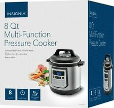Insignia 8-Quart Multi-Function Pressure Cooker - Stainless Steel (OB)