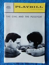 The Owl And The Pussycat - ANTA Theatre Playbill - January 1965 - Alan Alda