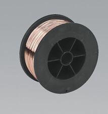 Sealey MIG/7K08 Acciaio Dolce Saldatura MIG SALDATRICE FILO 0.7Kg x 0.8mm Precision ferita