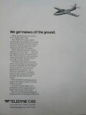 6/1977 PUB TELEDYNE CAE J69 T25 TURBINE ENGINE USAF CESSNA T-37 TRAINER AD