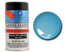 Testors Model Master Auto Nassau Blue Metallic Lacquer Spray Paint Can 3oz 28128