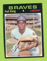 1971 Topps Single - Hal King (#88)  Atlanta Braves